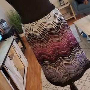 Missoni Print Skirt